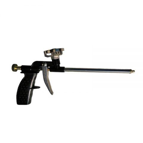 Пистолет для монтажной пены из металла и пластика