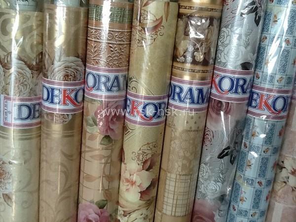 Клеенка столовая Dekorama в рулонах