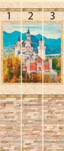 Замок короля осенний панно