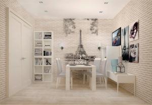 Эйфелева башня в интерьере
