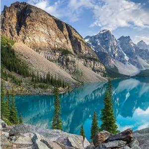 Горное озеро 600х600