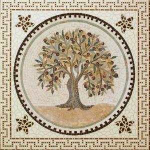 Греческая мозаика 600х600