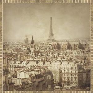 Вид на Париж 600х600